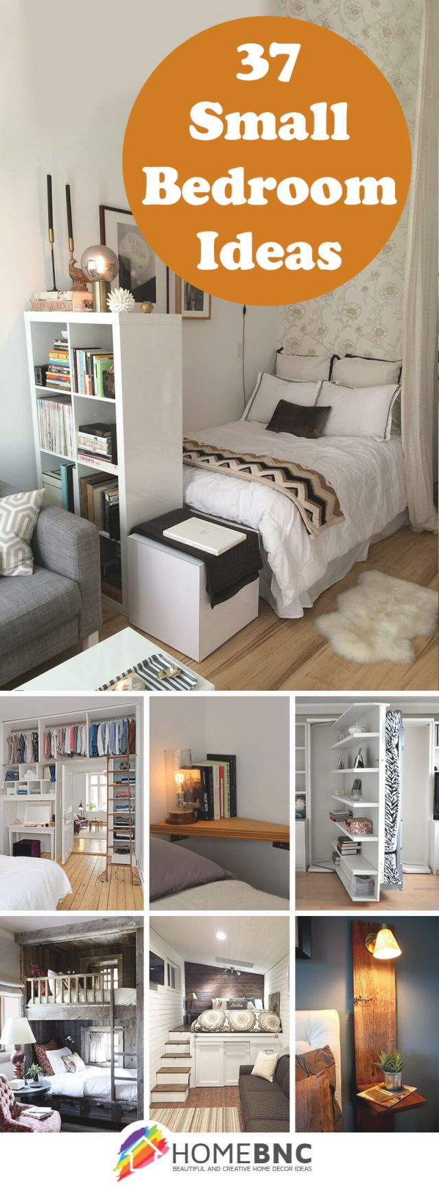 37 Best Small Bedroom Ideas And Designs For 2020 inside Decorating Ideas For Small Bedroom