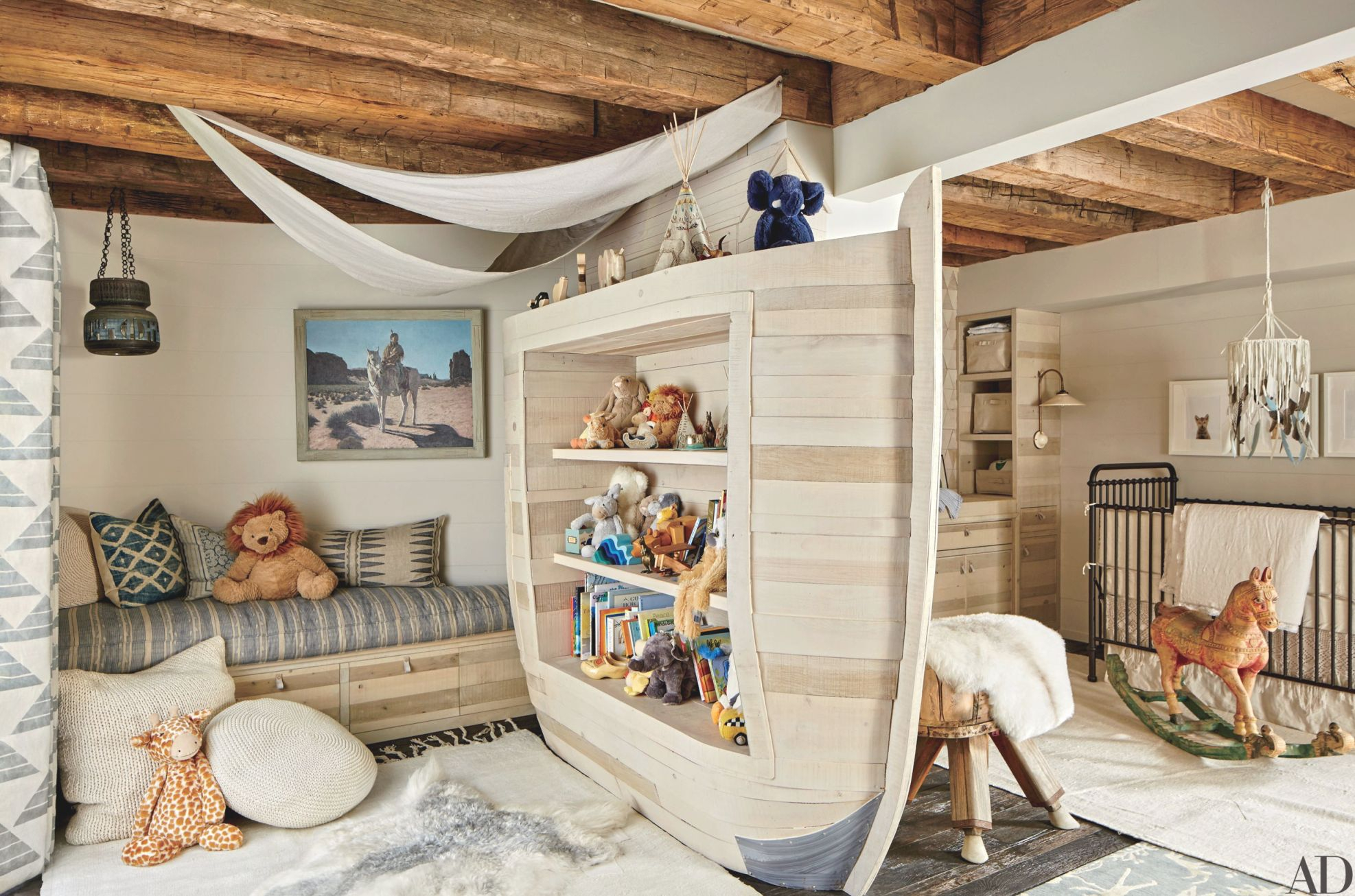 54 Stylish Kids Bedroom & Nursery Ideas | Architectural Digest for Inspirational Childrens Bedroom Decor Ideas