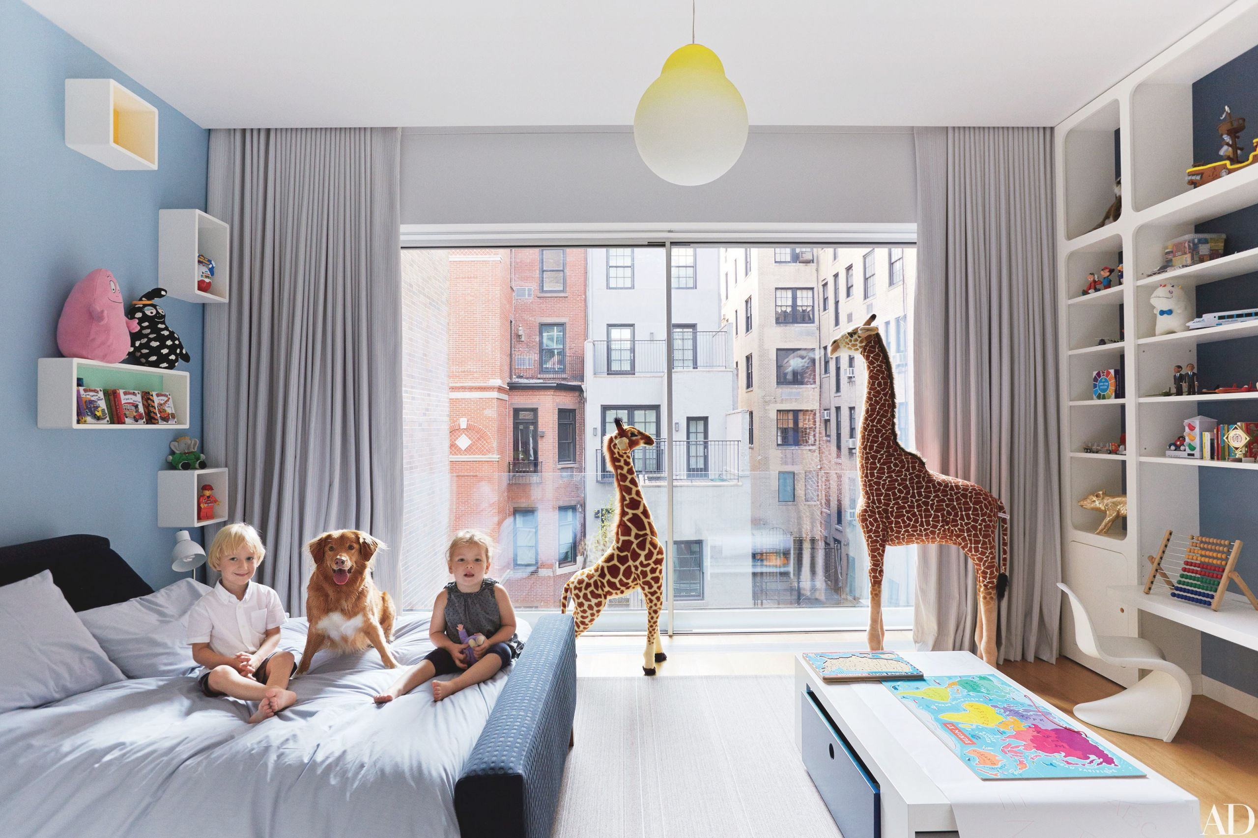 54 Stylish Kids Bedroom & Nursery Ideas | Architectural Digest within Childrens Bedroom Decor Ideas