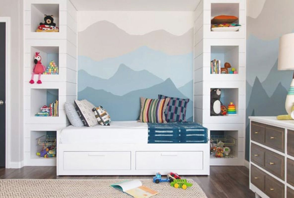 55 Cheerful Boys' Bedroom Ideas | Shutterfly within Inspirational Childrens Bedroom Decor Ideas