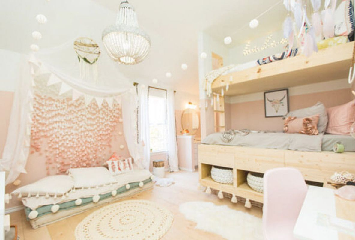 55 Delightful Girls' Bedroom Ideas | Shutterfly for Beautiful Bedroom Decorating Ideas For Girls