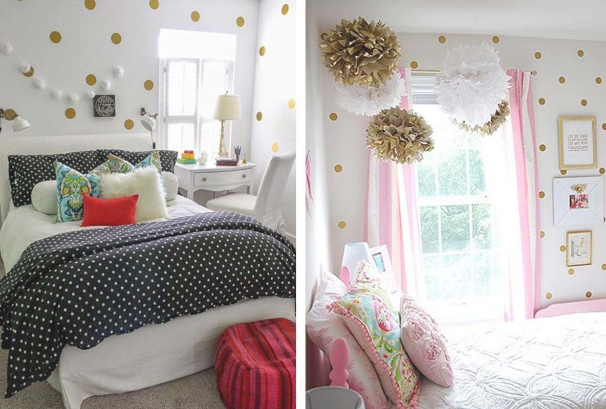 55 Delightful Girls' Bedroom Ideas | Shutterfly with Bedroom Decorating Ideas For Girls
