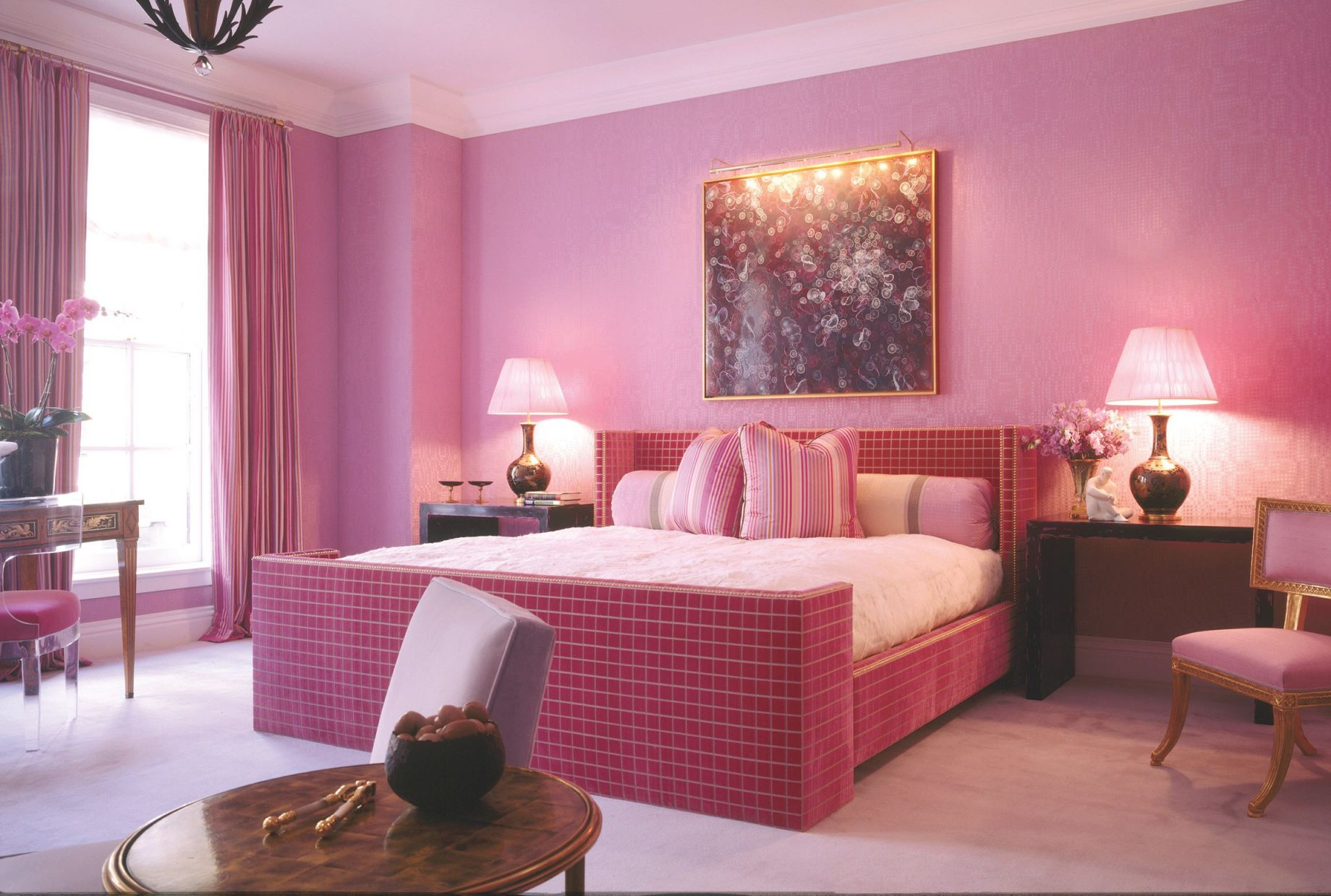 7 Must-Follow Steps For Decorating With Pink | Architectural with Feminine Bedroom Decorating Ideas