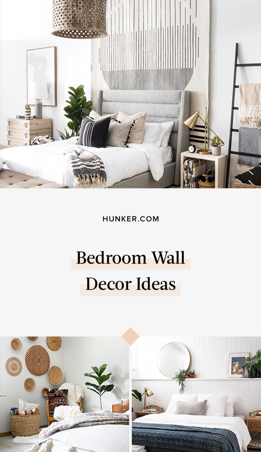8 Clever Bedroom Wall Decor Ideas To Make The Most Of That inside Unique Wall Decor Bedroom Ideas