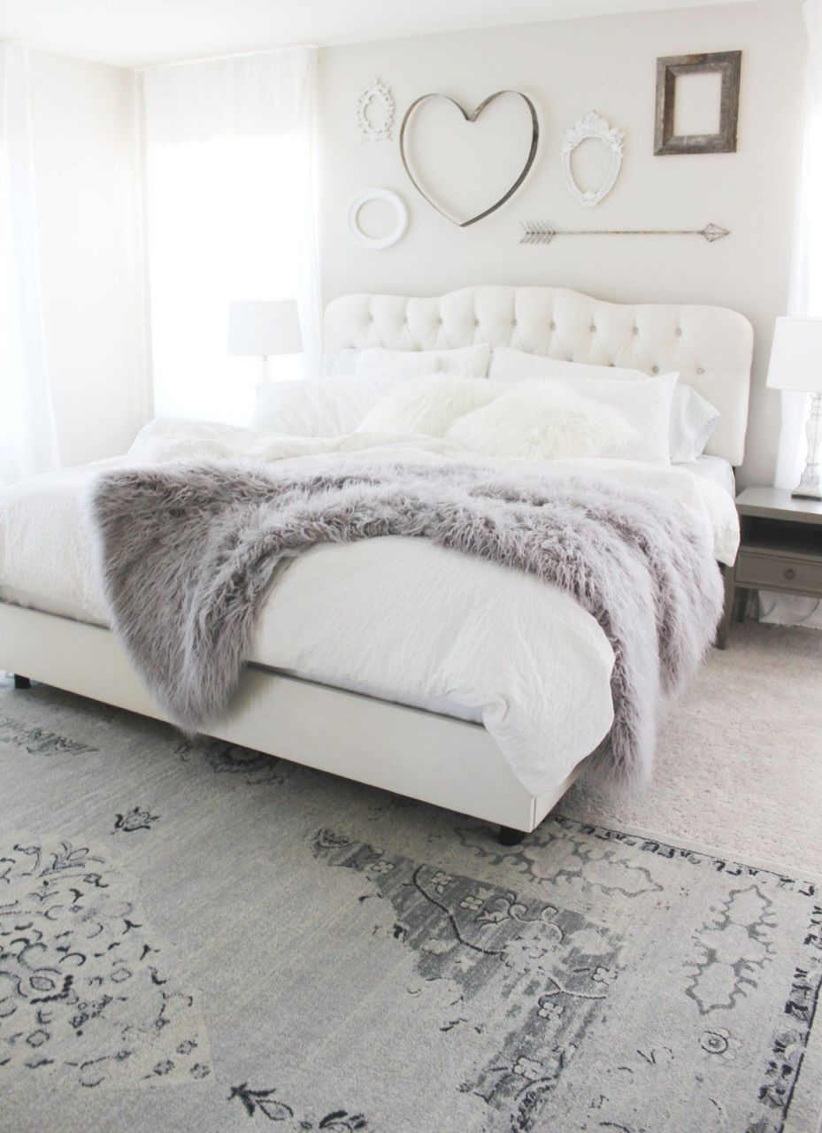 Aubrey Kinch | The Blog: Master Bedroom | Reveal | Bedroom intended for Bedroom Decorating Ideas Grey And White