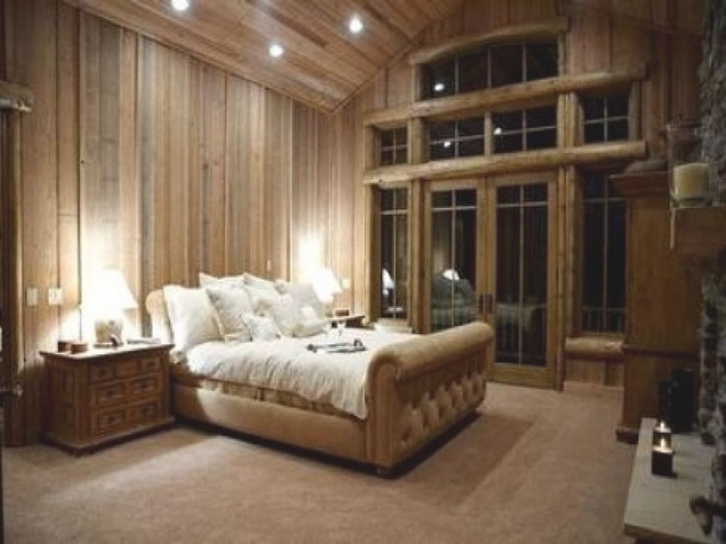 Awesome Cabin Bedroom Idea Romantic Decorating 5 24 P A C E in Inspirational Cabin Bedroom Decorating Ideas