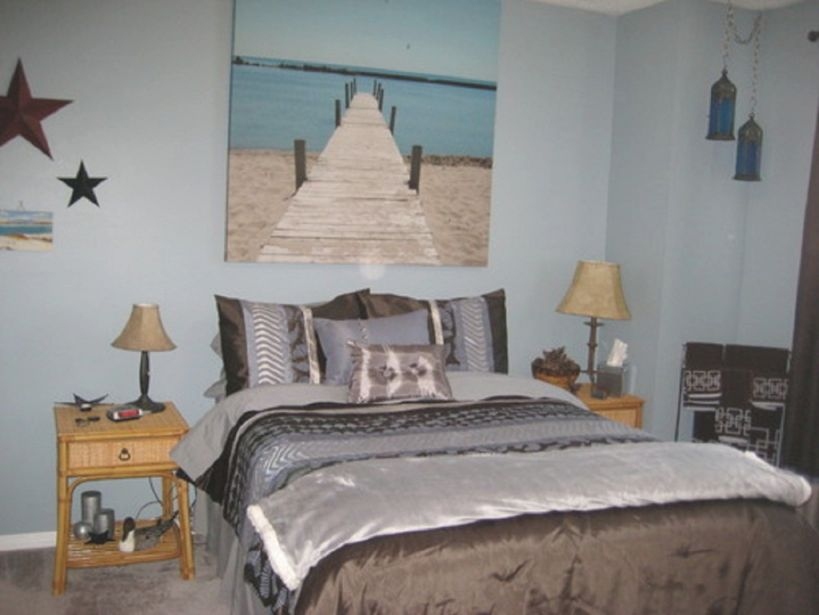 Beach Themed Room Decor : Strangetowne – Beach Room Décor for Fresh Beach Theme Bedroom Decorating Ideas