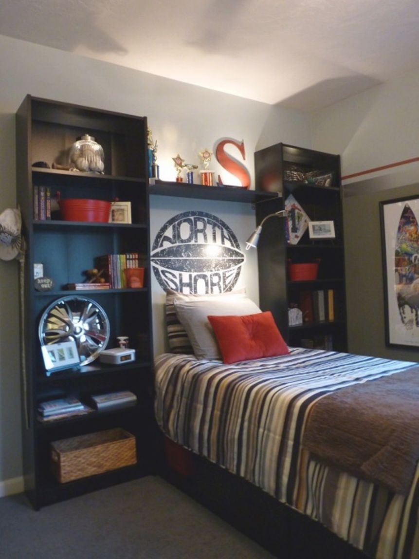 Bedroom , Awesome Decorating Teenage Boys Bedroom Ideas regarding Boys Bedroom Ideas Decorating