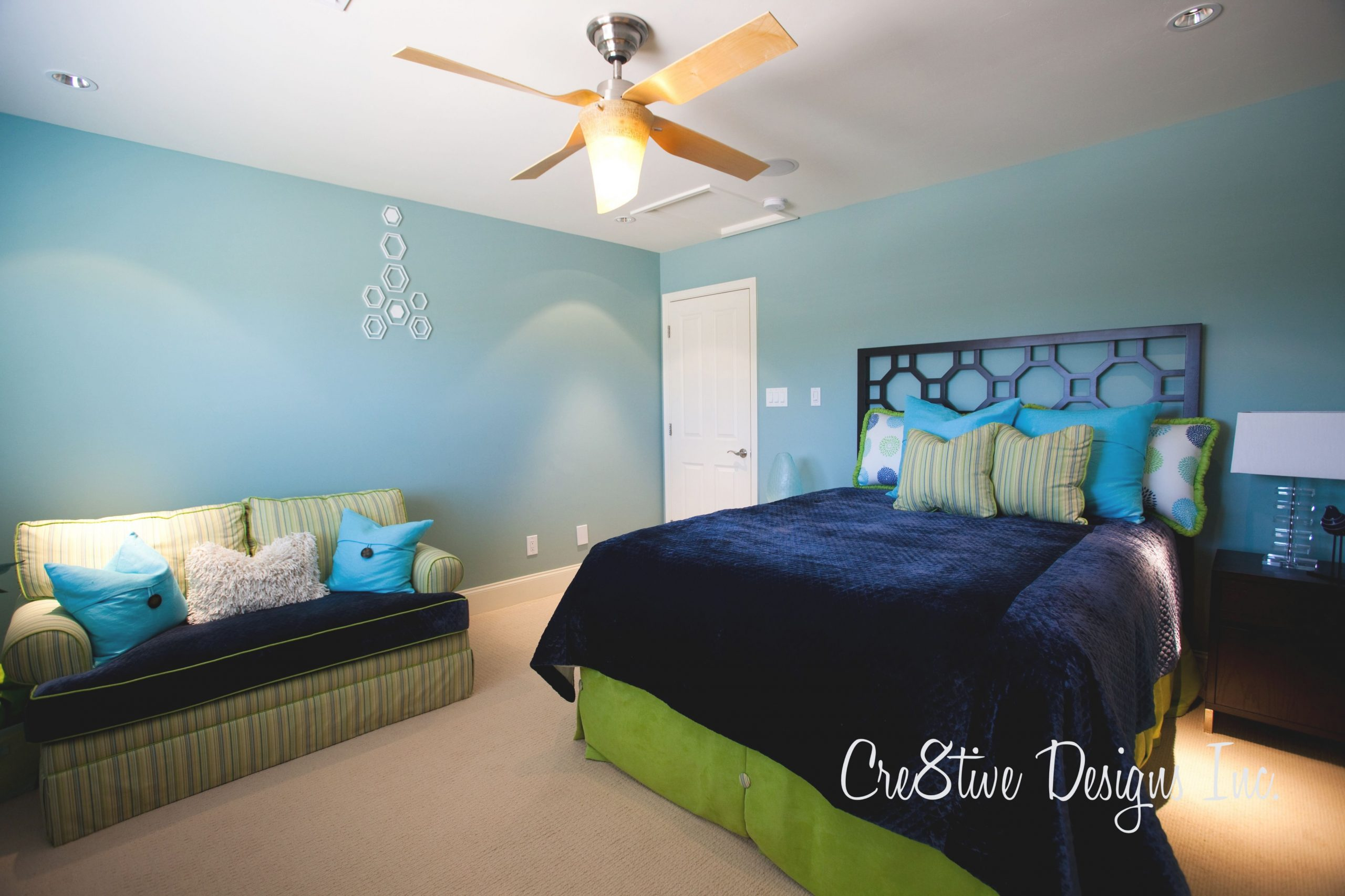 Bedroom Decorating Ideas Green Paint And Wallpaper Green And pertaining to Inspirational Blue And Green Bedroom Decorating Ideas