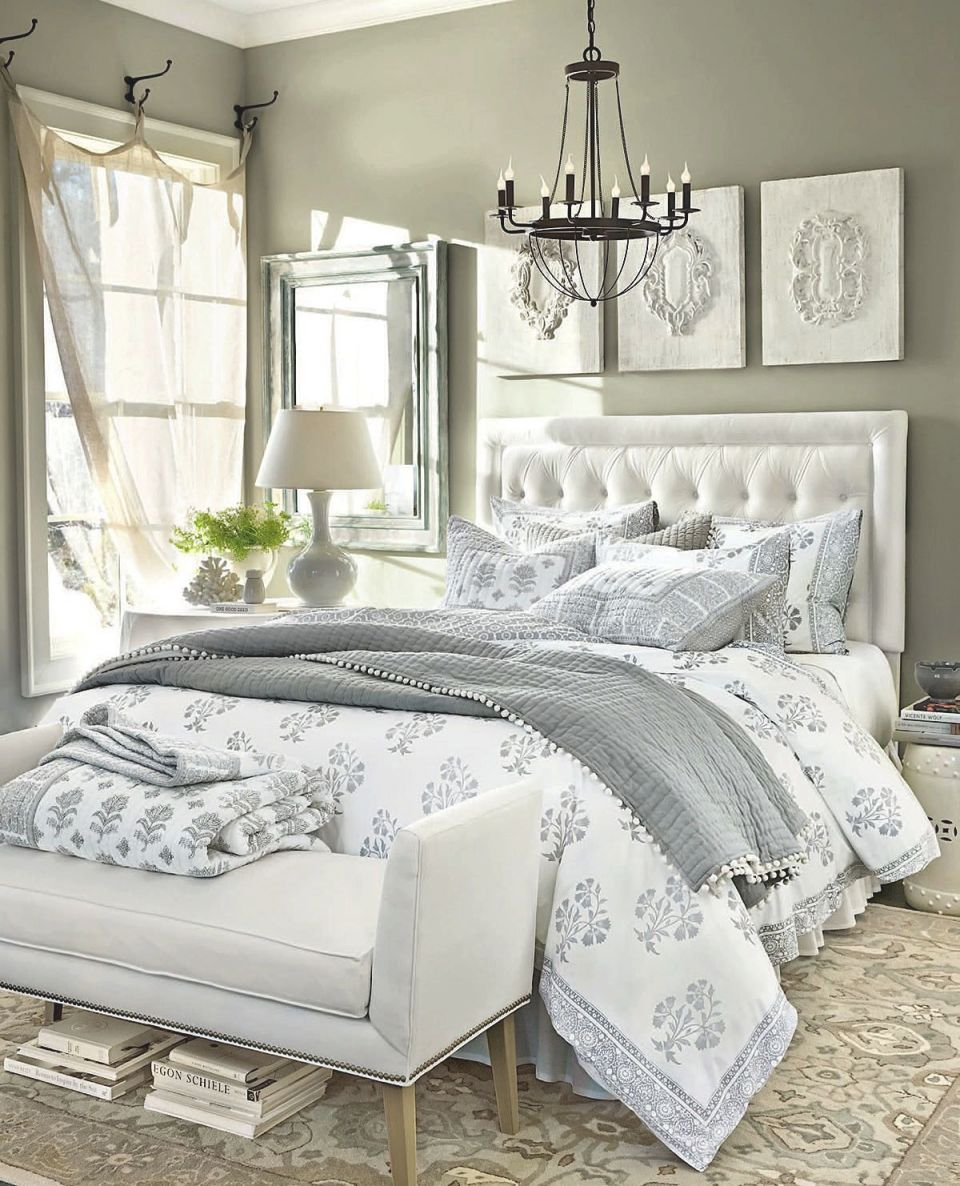 Bedroom Decorating Ideas | White Bedroom Decor, White intended for Elegant Bedroom Decorating Ideas Grey And White