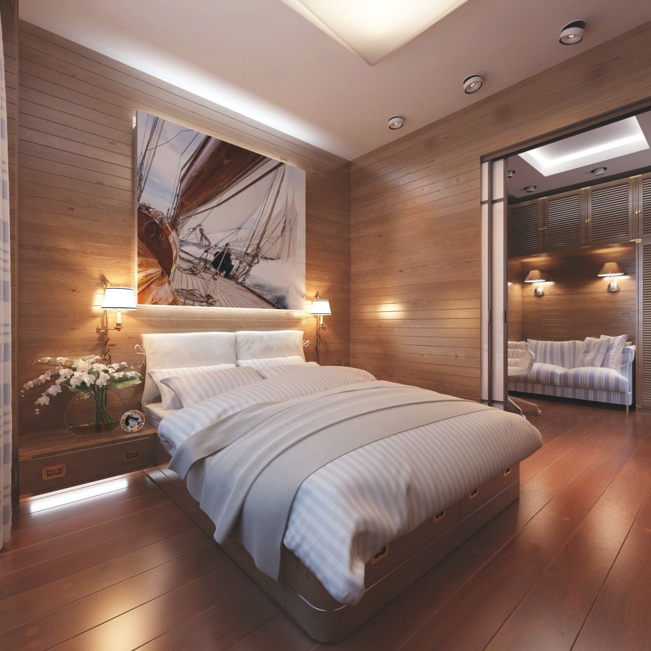 Bedroom Design: Cabin Style Bedroom Decor, Modern Bedroom within Cabin Bedroom Decorating Ideas