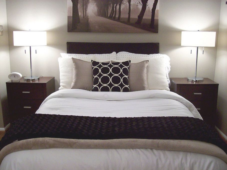 Bedroom Design Ideas Using Black Element - Design On Vine throughout Taupe Bedroom Decorating Ideas