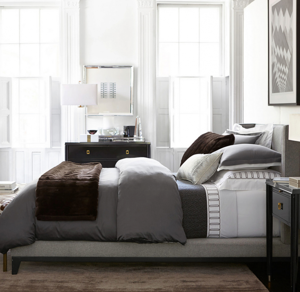 Bedroom Design within Beautiful Taupe Bedroom Decorating Ideas