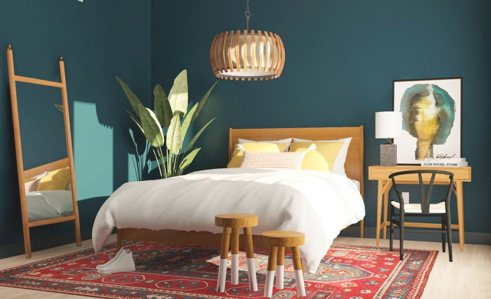 Bedroom Ideas : Green For The Perfect Relaxing Retreat Blue throughout Blue And Green Bedroom Decorating Ideas