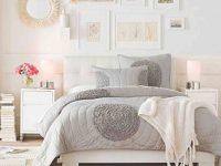 Bedroom Ideas : Light And Bright Grey Nutral White Feminine inside Lovely Feminine Bedroom Decorating Ideas