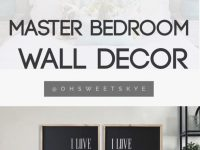 Bedroom Ideas : Master Wall Decor Decoration Decorating For in Master Bedroom Wall Decor Ideas