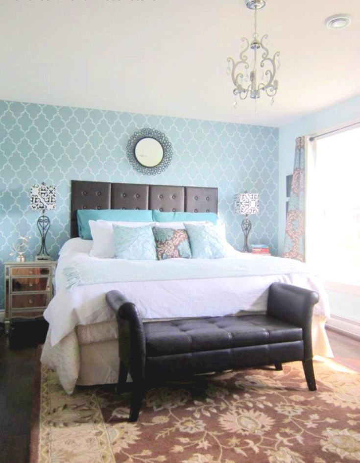 Bedroom Ideas : Master Wall Decor Wallpaper Accent Easy ...