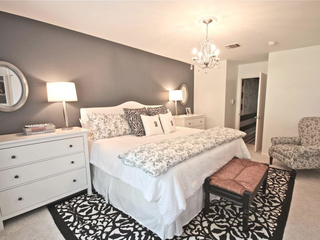 Bedroom Inspiration Gray Decor Taupe Inspirations Glam Home