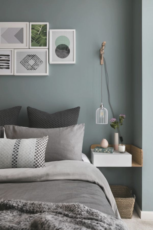 Blue Green And Grey Bedroom Paint Art Wall Decoration Eyes throughout Inspirational Blue And Green Bedroom Decorating Ideas