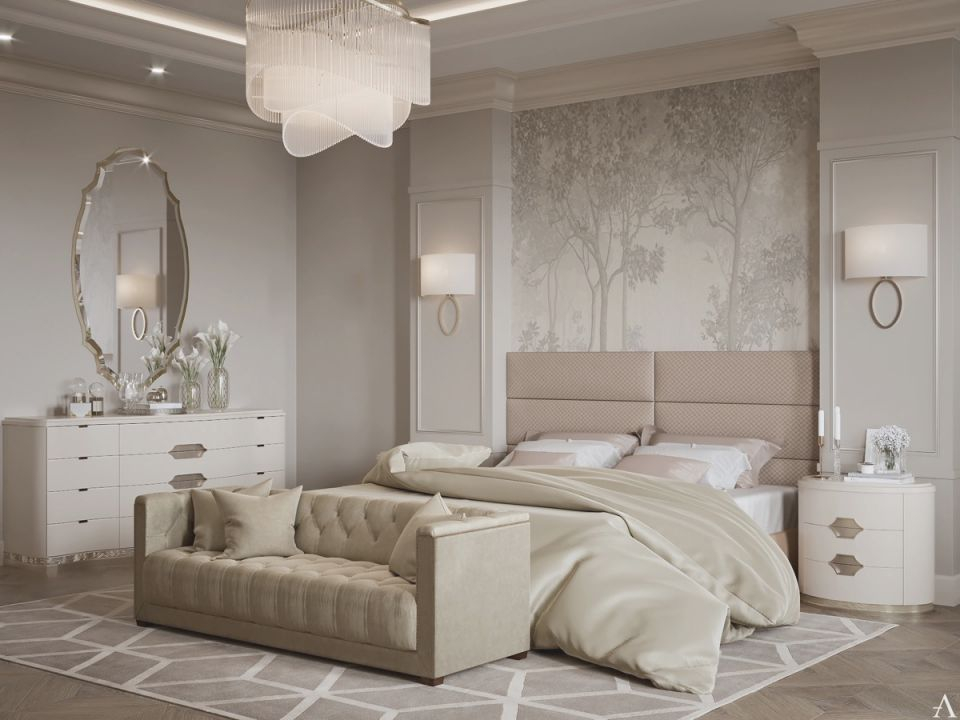 Blush-And-Taupe-Transitional-Bedroom-Design-Ideas-With regarding Taupe Bedroom Decorating Ideas