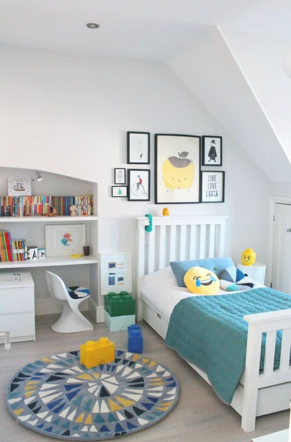 Boy's Bedroom Ideas. Decorating With A Rug From Little P pertaining to Boys Bedroom Ideas Decorating