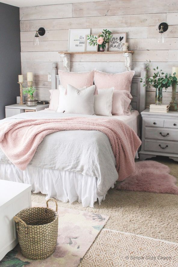 Charming But Cheap Bedroom Decorating Ideas • The Budget throughout Best of Ideas To Decorate My Bedroom