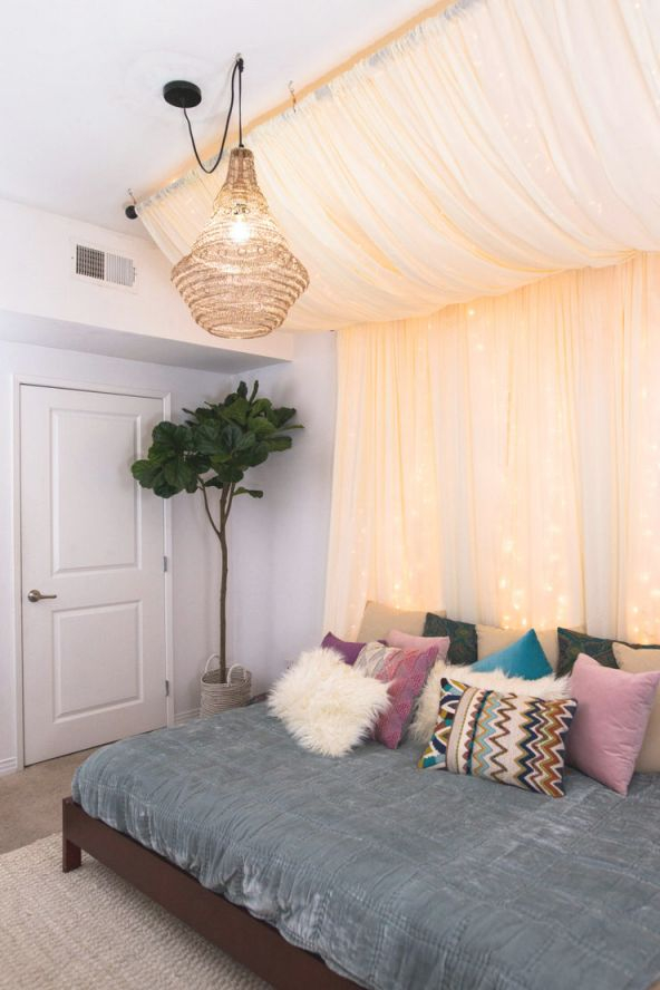 Charming But Cheap Bedroom Decorating Ideas • The Budget with Elegant Cheap Bedroom Decor Ideas