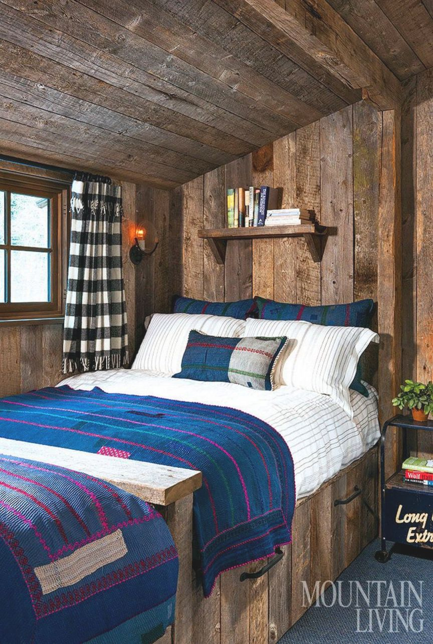 Inspirational Cabin Bedroom Decorating Ideas Awesome Decors