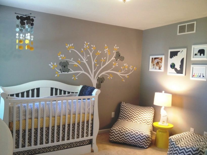 Cool Baby Room Colors Unisex Painting Design Paint Ideas in Luxury Baby Bedroom Decorating Ideas