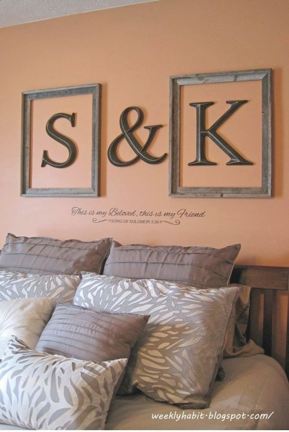 Create A Romantic Valentine's Day Bedroom Using Your 5 with Inspirational Wall Decoration Ideas For Bedrooms