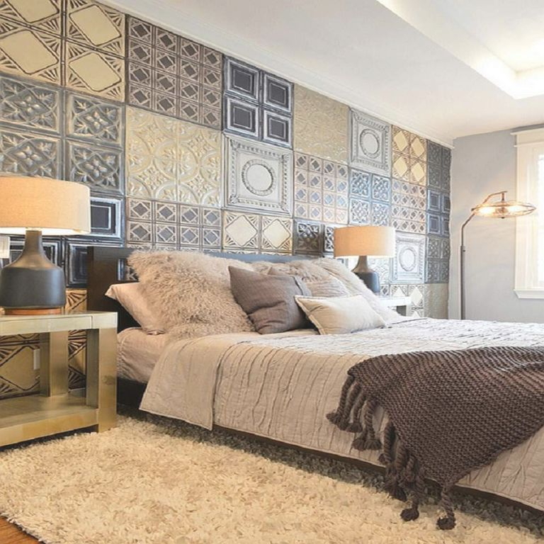 Creative No-Paint Diy Bedroom Wall Ideas intended for Wall Decoration Ideas For Bedrooms