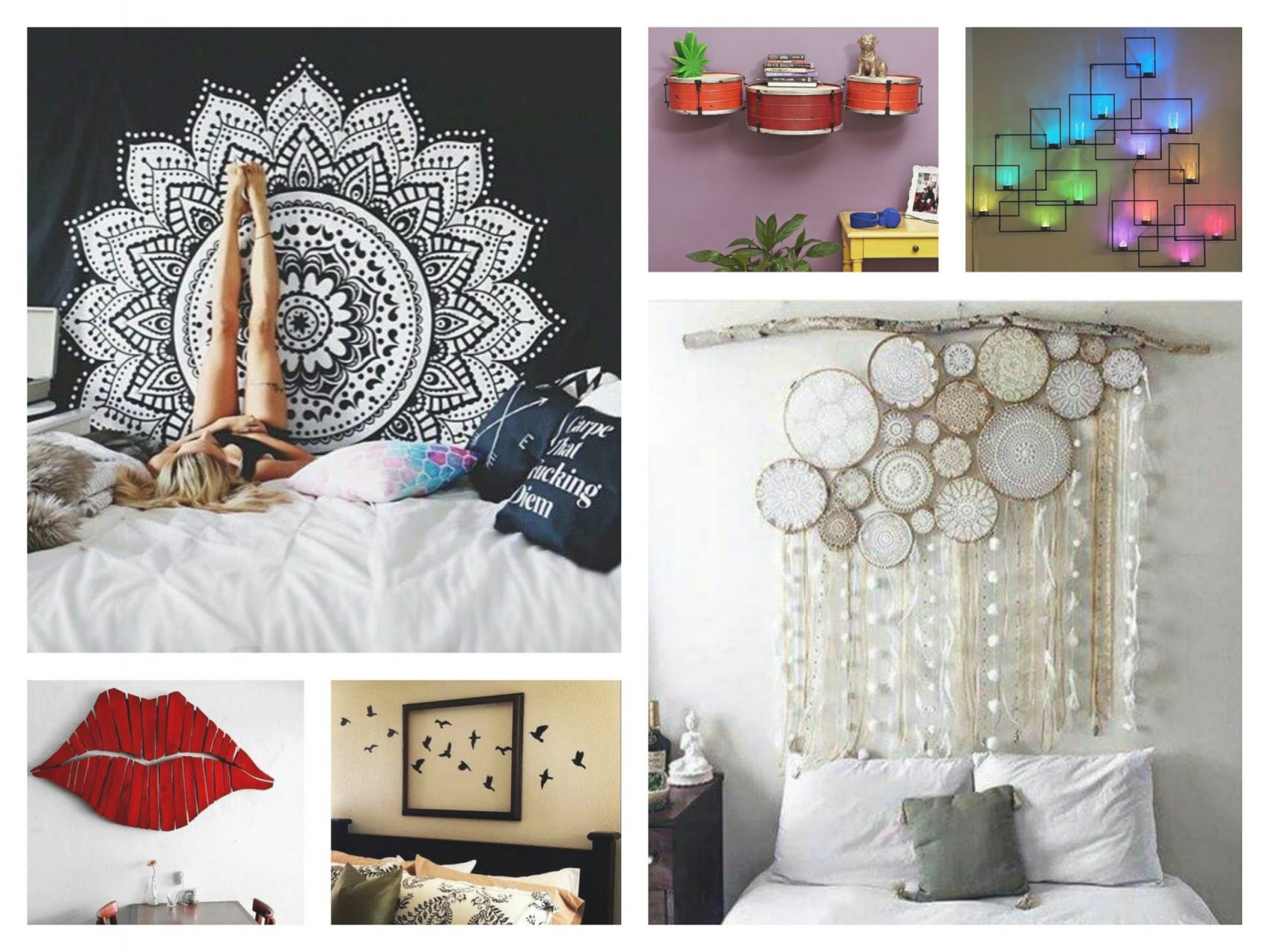 Creative Wall Decor Ideas Diy Room Decorations Youtube In within Wall Decor Ideas For Bedroom Diy