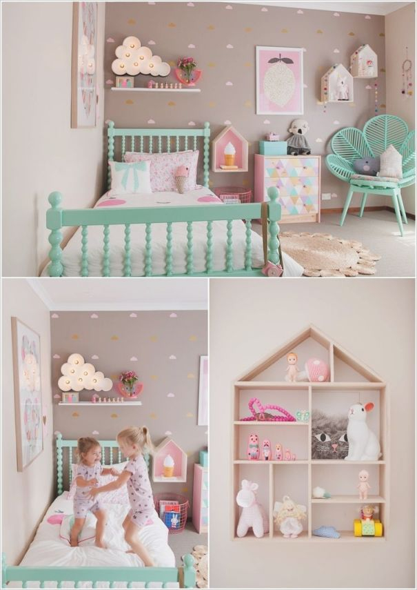 Cute Ideas To Decorate A Toddler Girl's Room | Girl Room with regard to Decoration Ideas For Little Girl Bedrooms