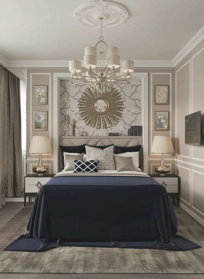 Décor Lusso | Blue Bedroom Decor, Blue, Gold Bedroom regarding Taupe Bedroom Decorating Ideas