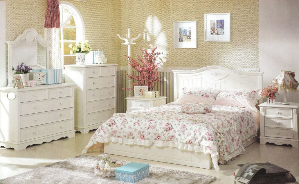 Decorating Ideas And Refinishing Tips With White Country intended for French Bedroom Decorating Ideas