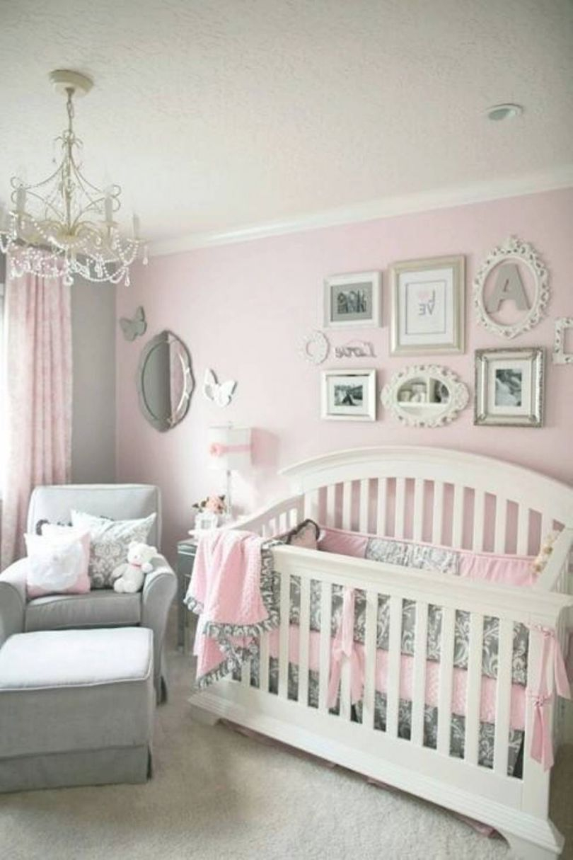 Decorating Ideas For Baby Girl Nursery Wall Decor 70th With Regard To Luxury Baby Bedroom Decorating Ideas Awesome Decors
