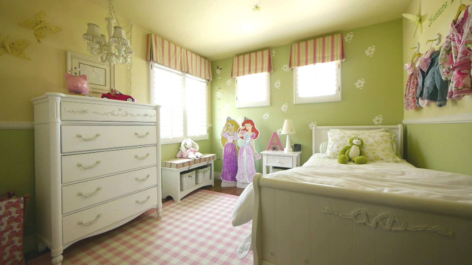 Decorating Ideas For Girls' Rooms | Hgtv throughout Best of Decoration Ideas For Little Girl Bedrooms