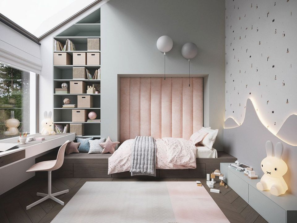 Dramatic Interior With Luxury Closets & Bathrooms intended for Childrens Bedroom Decor Ideas