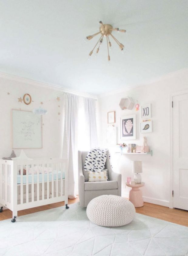 √ 33 Most Adorable Nursery Ideas For Your Baby Girl in Luxury Baby Bedroom Decorating Ideas