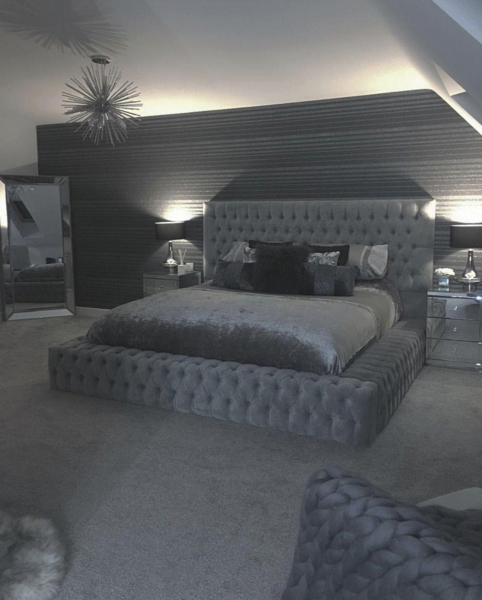 Excellent Grey White Bedroom Decorating Ideas Tips For 2020 in Bedroom Decorating Ideas Grey And White