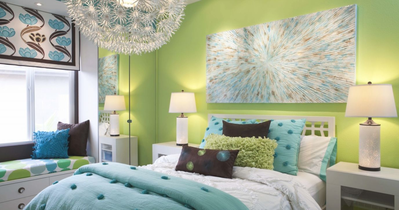 Girl Room Makeover | San Diego Interior Designers throughout Inspirational Blue And Green Bedroom Decorating Ideas