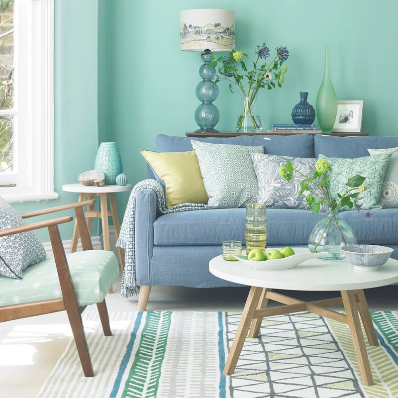 Green Living Room Ideas For Soothing Sophisticated Spaces With Blue And Green Bedroom Decorating Ideas Awesome Decors