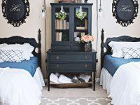 Guest Bedroom Makeover – Part 2 regarding Twin Bedroom Decorating Ideas