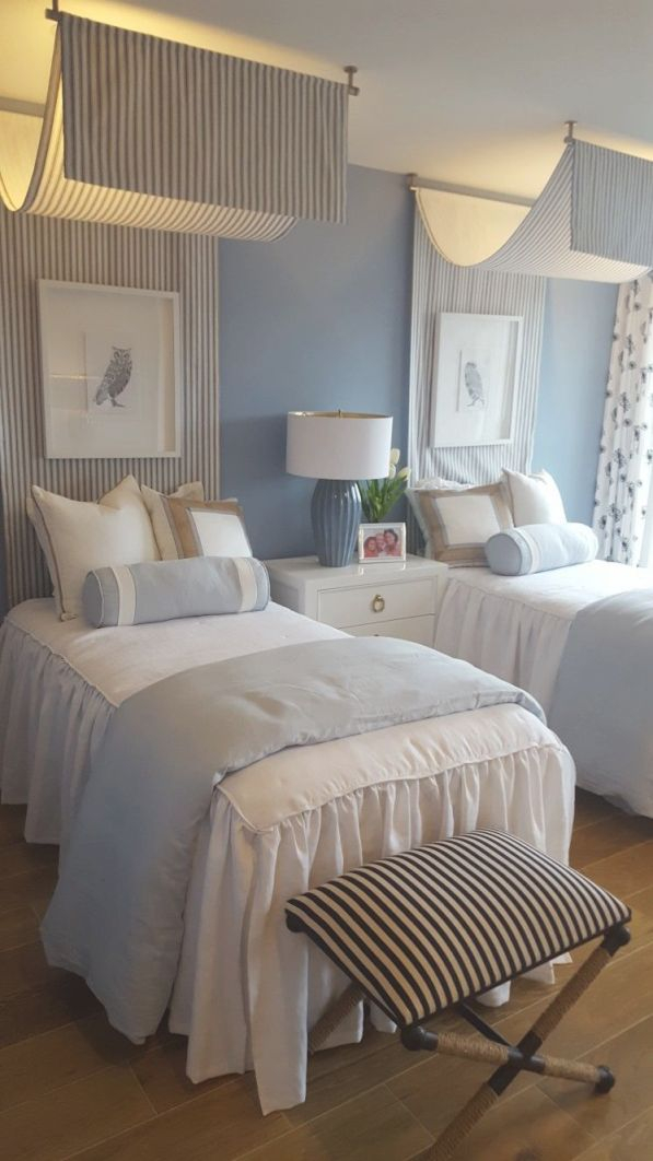 Guest Room With Twin Beds | Twin Girl Bedrooms, Small Master inside Awesome Twin Bedroom Decorating Ideas
