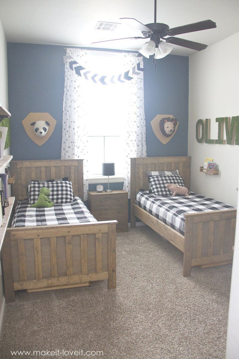Ideas For A Shared Boys Bedroom (…yay, All Done!!) | Kids regarding Inspirational Childrens Bedroom Decor Ideas