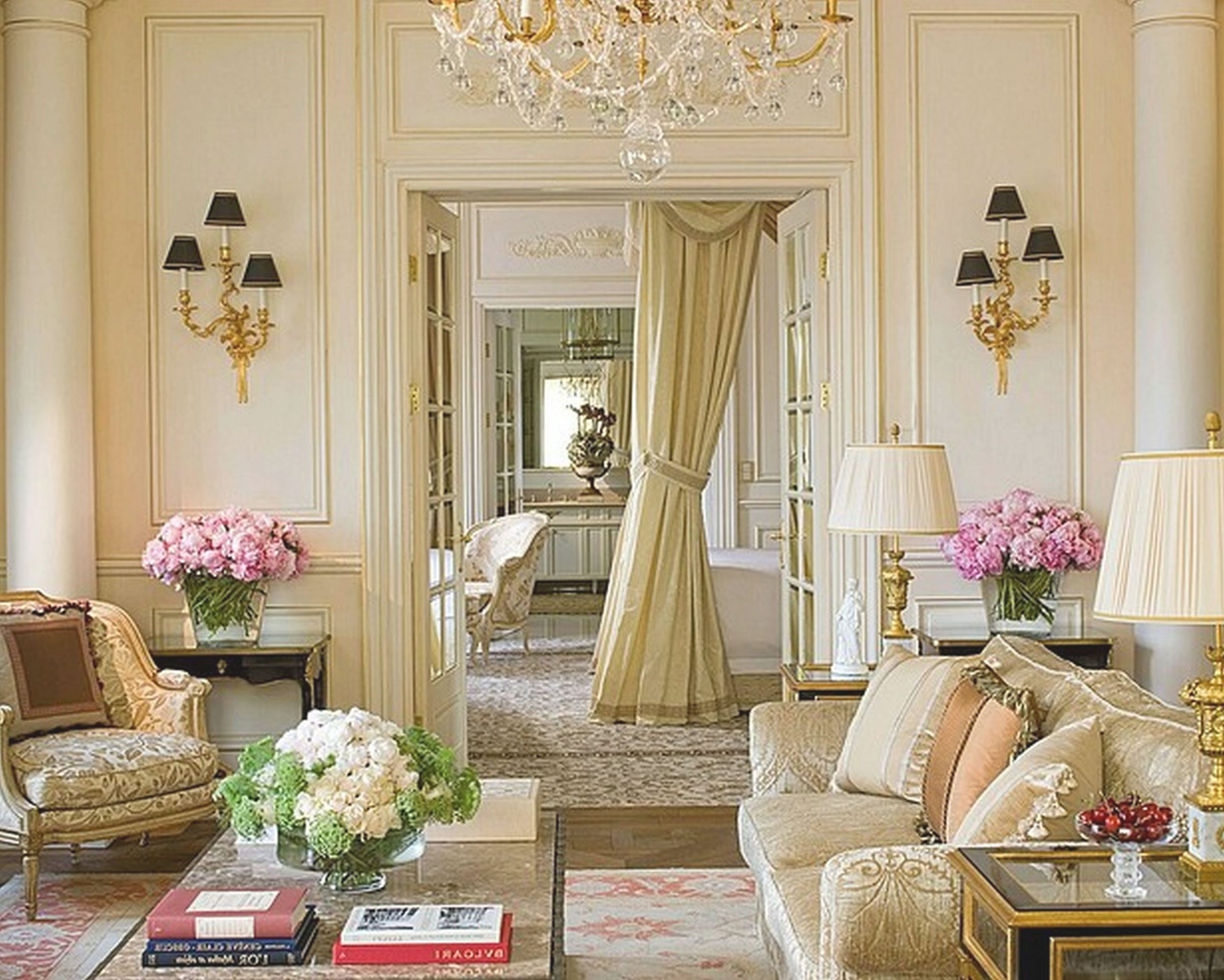 Living Room French Country Decorating Ideas Southern inside French Bedroom Decorating Ideas