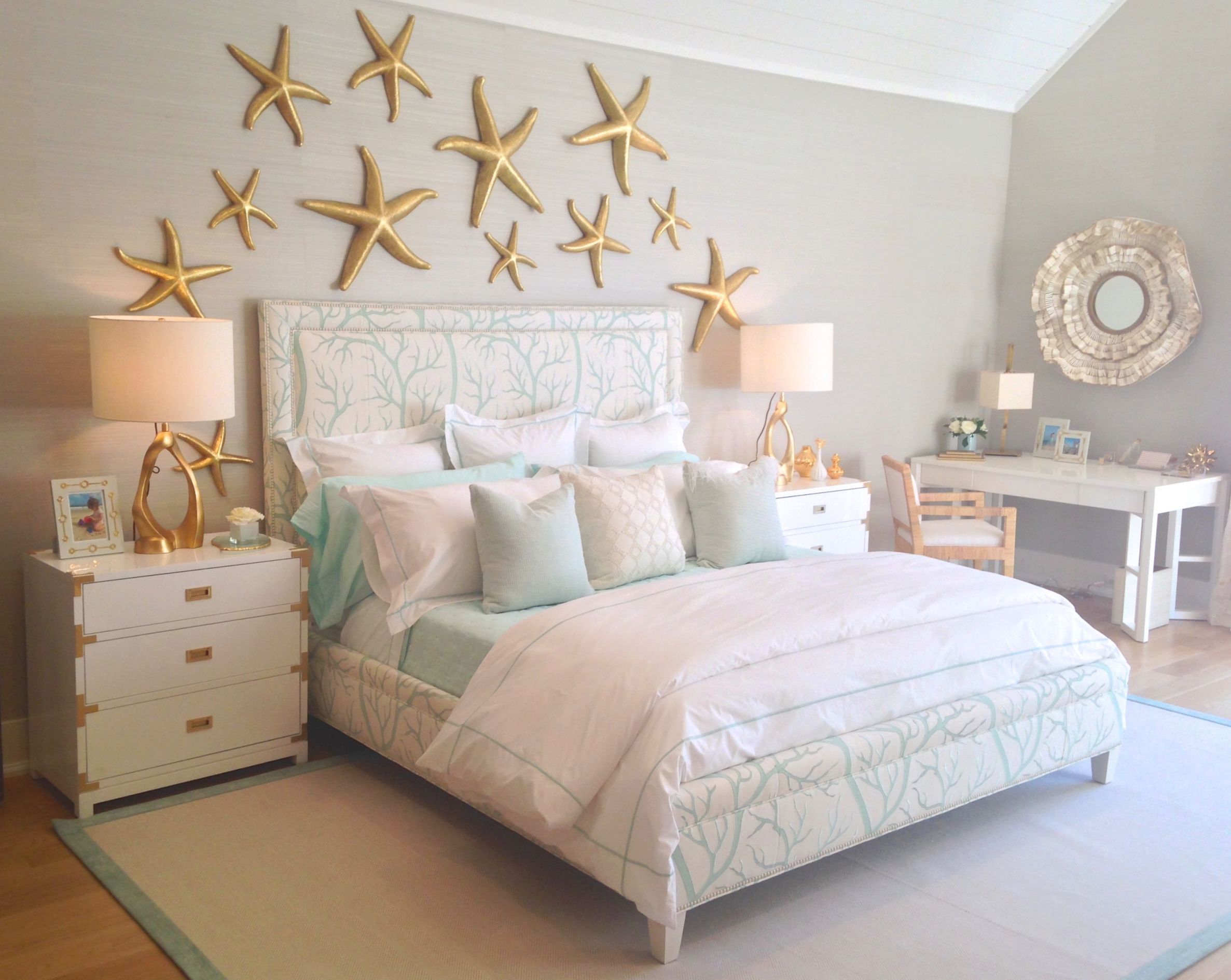 """Make Your Bedroom """"Sizzle"""" With Unique Headboard Designs intended for Beach Theme Bedroom Decorating Ideas"""