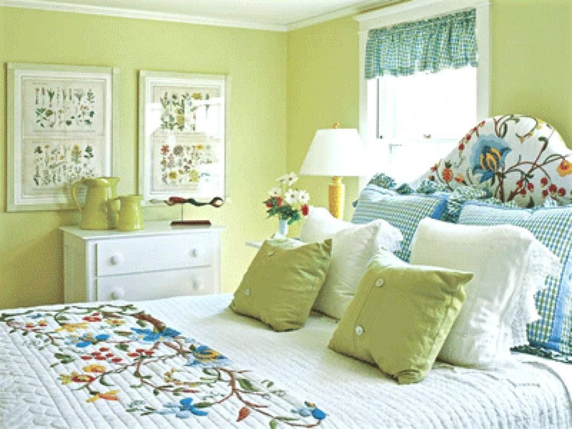 Marvelous Green Bedrooms Ideas Dark Accent Wall Bedroom And pertaining to Inspirational Blue And Green Bedroom Decorating Ideas