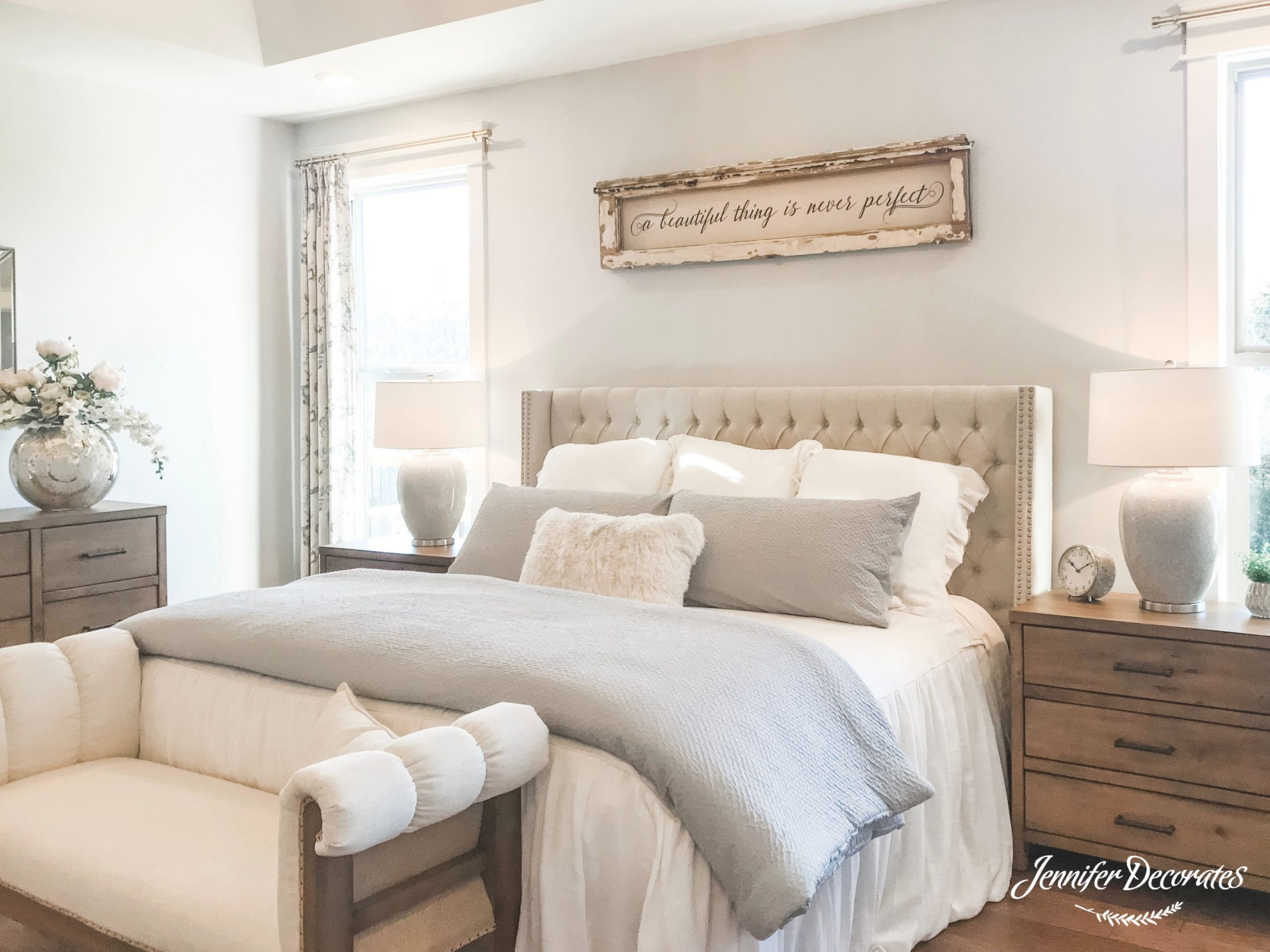 Master Bedroom Decorating Ideas intended for Cheap Bedroom Decor Ideas