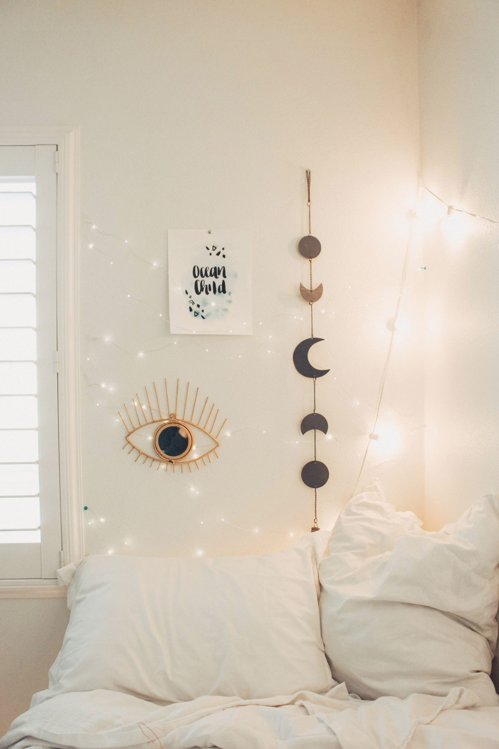 Moon Phases Wall Hanging Decor | Room Inspiration, Room intended for Wall Decor Bedroom Ideas
